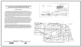 Rural Domestic Well-water Quality Reports & Flyers
