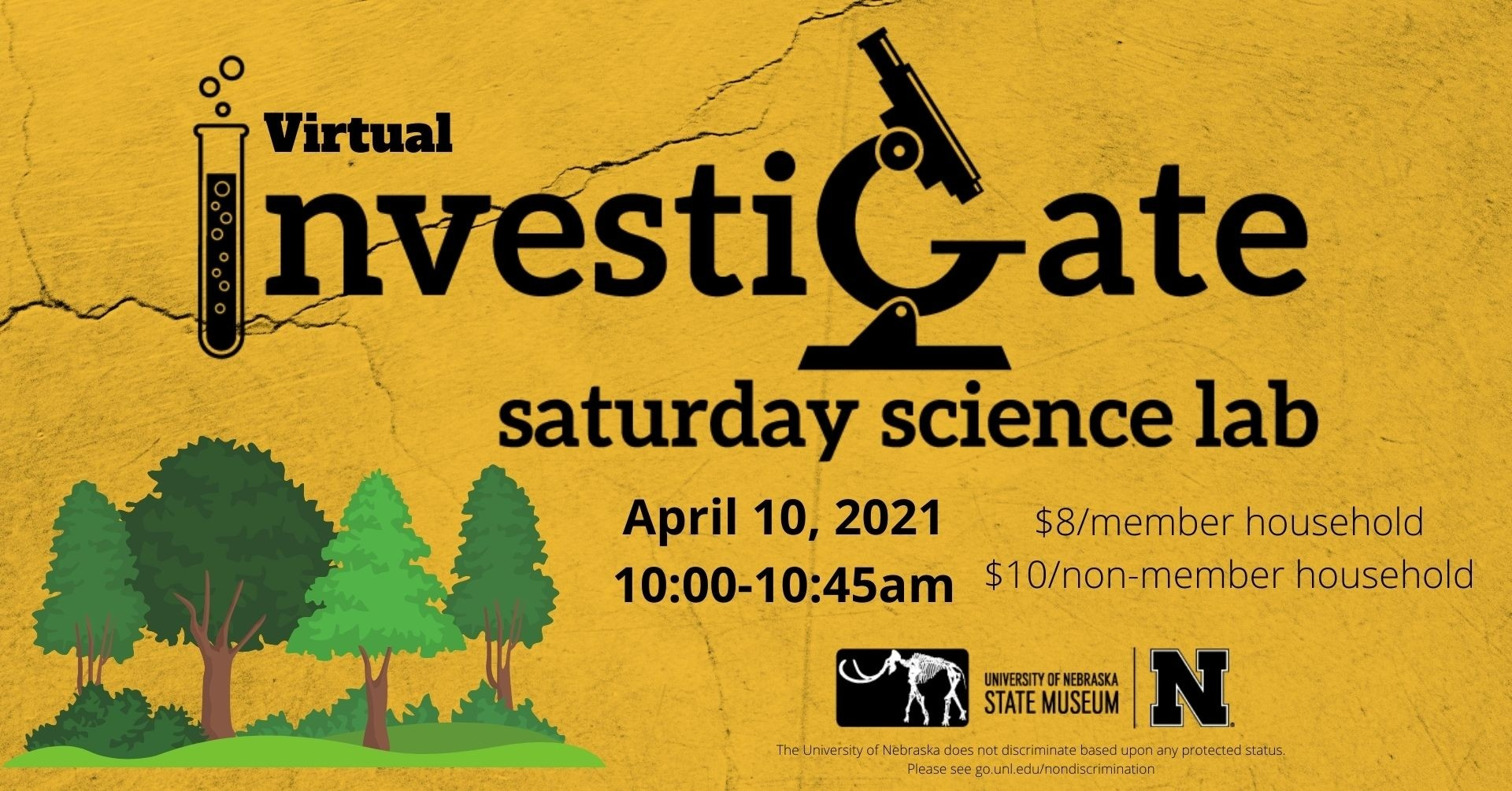 Investigate: Saturday Science Lab, April 2021
