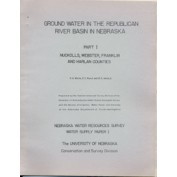 Part III - Ground Water in the Republican River Basin in Nebraska, Red Willow and Frontier Counties