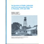 An Inventory of Public, Industrial and Power-generating Water Use in Nebraska, 1979 and 1980