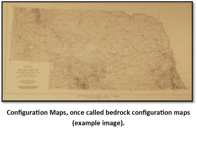 Configuration of the Surface of Tertiary and Older Rocks in Nebraska, E.C. Reed, V.H. Dreeszen and R.R. Burchett. (BCT-1)