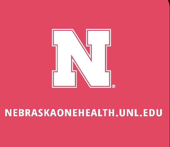 Nebraska One Health Program Red Buffalo T-Shirts sleeve