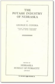 The Potash Industry of Nebraska (Bull-1A)