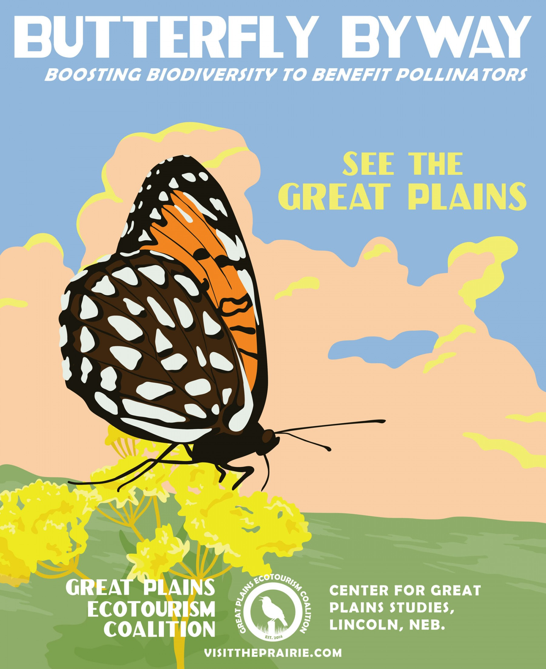 Butterfly Byway Poster