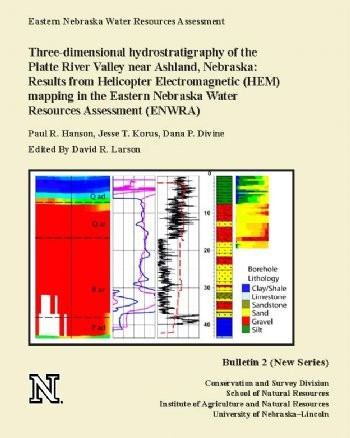 Three-dimensional hydrostratigraphy of the Platte River Valley near Ashland, Nebraska: Results from Helicopter Electromagnetic (HEM) mapping in the Eastern Nebraska Water Resources Assessment (ENWRA)  CB-2(NS)