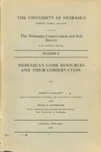 Nebraska's Game Resources and Their Conservation (DB-12)