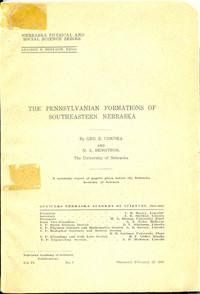 The Pennsylvanian Formations of Southeastern Nebraska (DB-2)