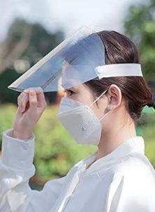 Clear Face Shields - Two styles (FS-2vp)