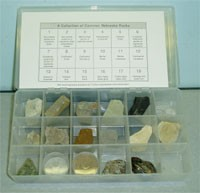 Common Nebraska Rocks, A Collection with Explanatory Notes (GIM-76a)