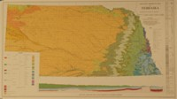 Geologic Bedrock Map of Nebraska (color) (GMC-1)