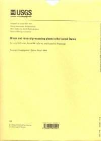 Mines and Mineral Processing Plants in the United States (GMC-33)