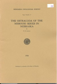 The Ostracoda of the Missouri Series in Nebraska (GSP-11)
