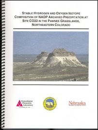 Stable Hydrogen and Oxygen Isotope Composition of NADP Archived Precipitation at Site CO22 in the Pawnee Grasslands, Northeastern Colorado (OFR-59)