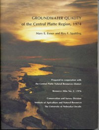 Groundwater Quality of the Central Platte Region, 1974 (RA-2)