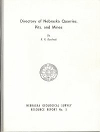 Directory of Nebraska Quarries, Pits, and Mines (RR-5)