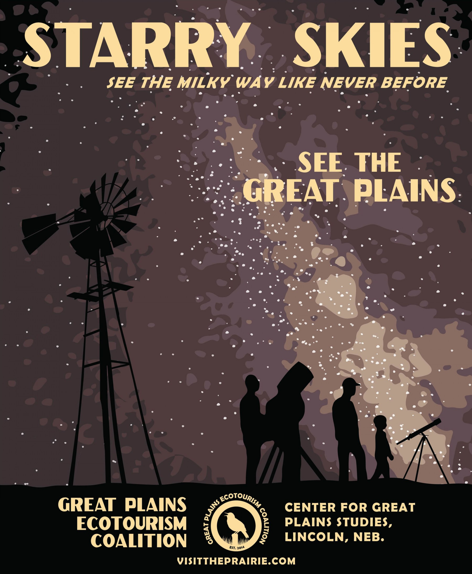 Starry Skies Poster