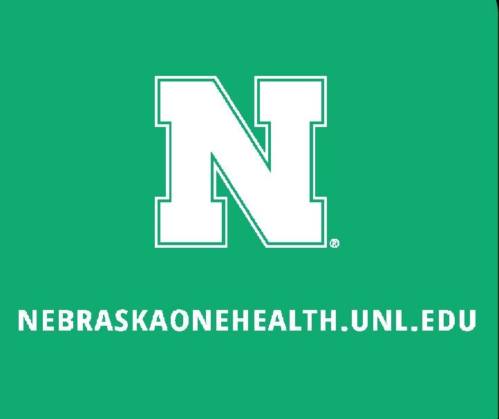 Nebraska One Health Program Green Turtle T-Shirts sleeve