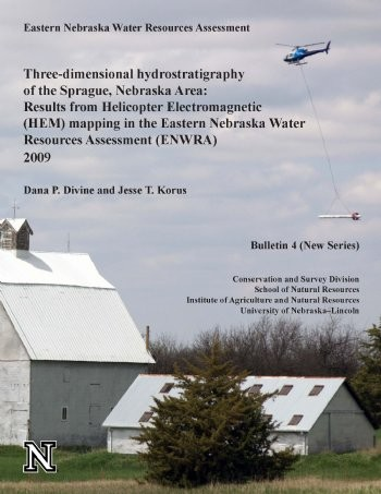 Three-dimensional hydrostratigraphy of the Sprague,Nebraska Area: Results from Helicopter Electromagnetic (HEM) mapping in the Eastern Nebraska Water Resources Assessment (ENWRA) 2009 CB-4(NS)