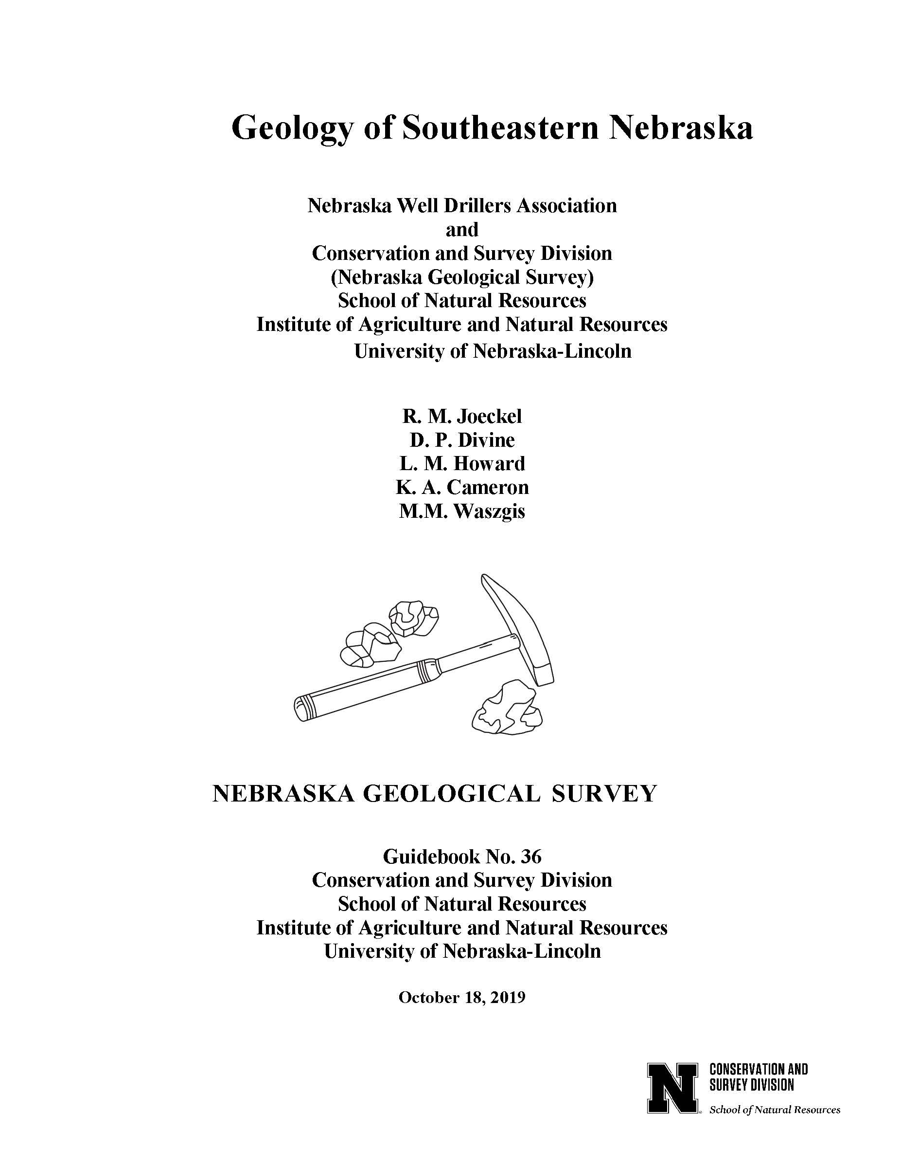 Geology of Southeastern Nebraska (GB-36)