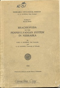 Brachiopoda of the Pennsylvanian System in Nebraska (GSB-5)
