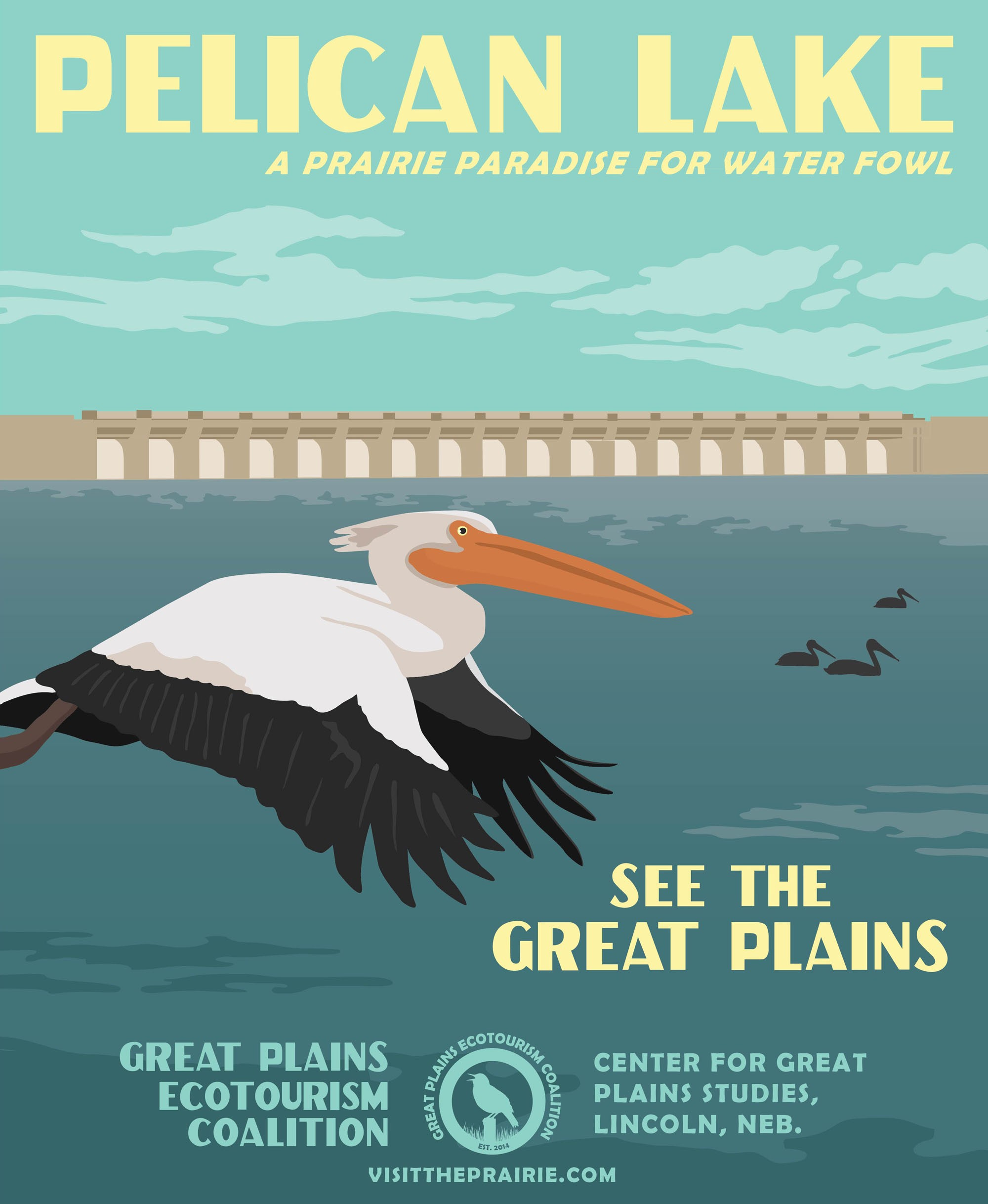 Pelican Lake Poster