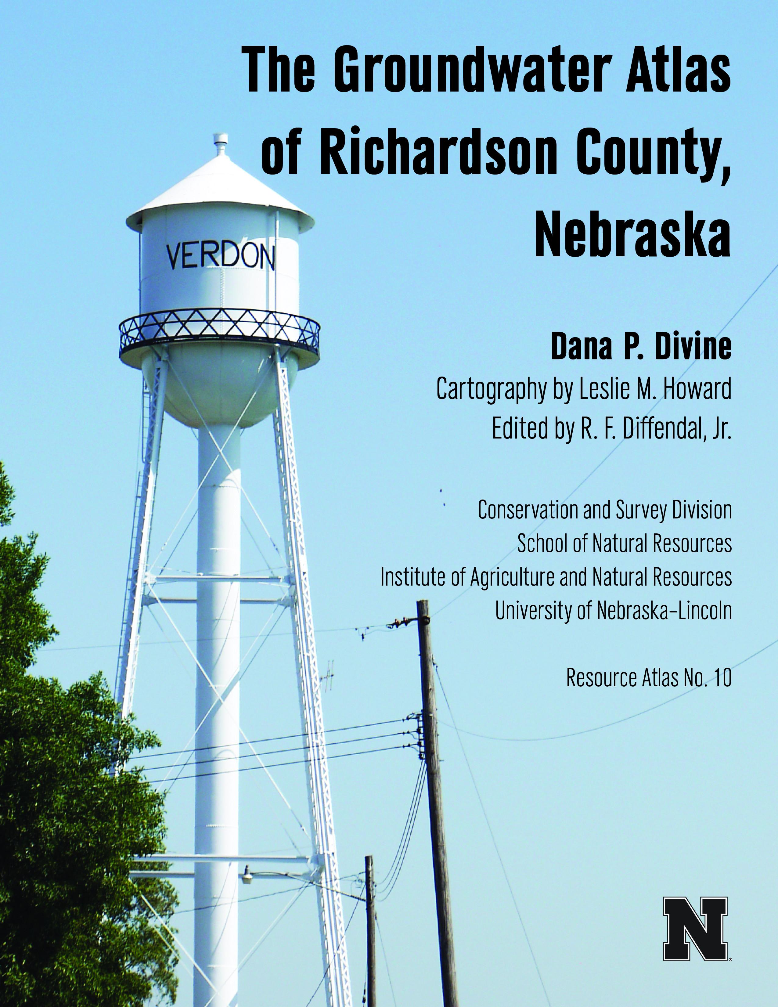 The Groundwater Atlas of Richardson County, Nebraska (RA-10)