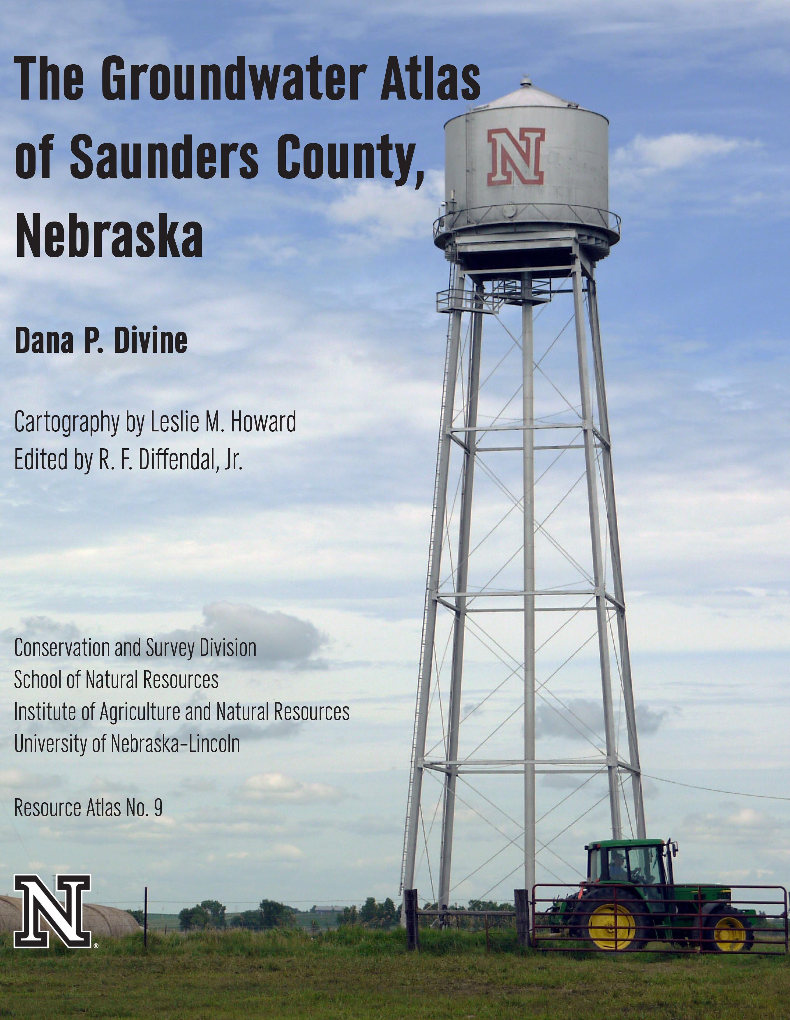 The Groundwater Atlas of Saunders County, Nebraska (RA-9)