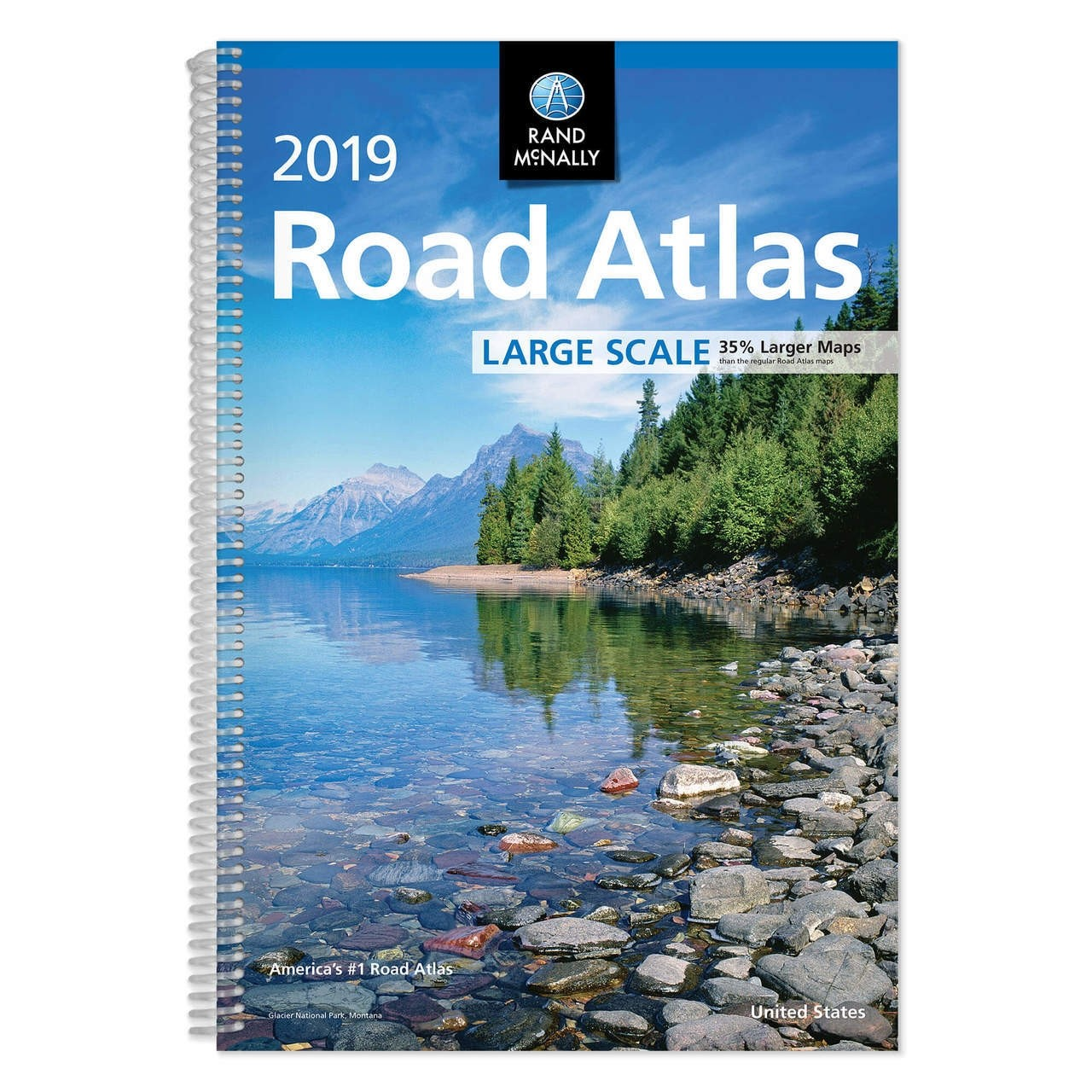 2019 Large Scale Road Atlas