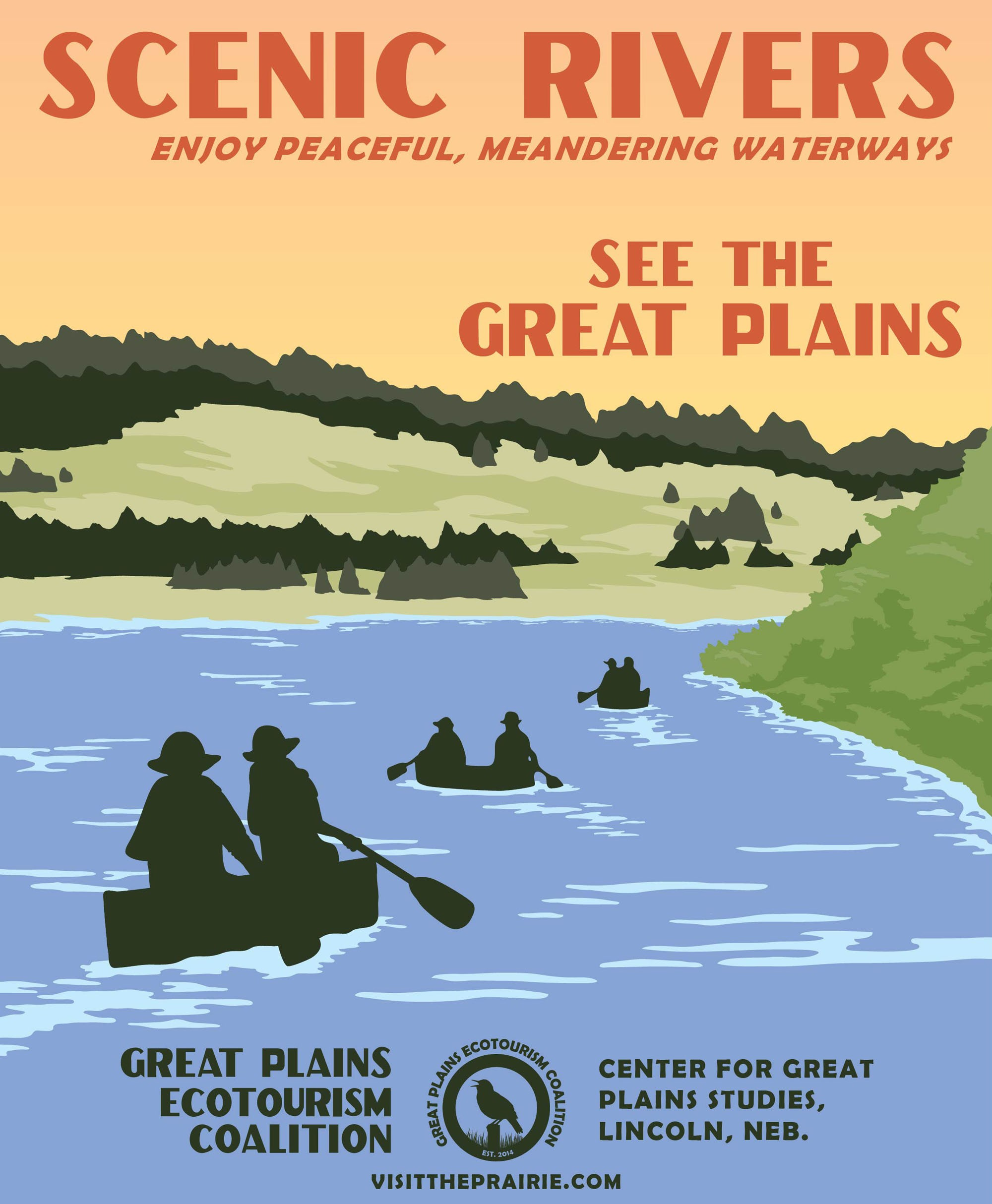 Scenic Rivers Poster