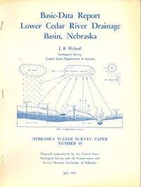 Basic-Data Report, Lower Cedar River Drainage Basin, Nebraska
