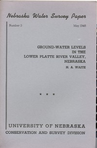 Ground-Water Levels in the Lower Platte River Valley, Nebraska