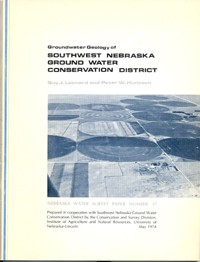 Groundwater Geology of Southwest Nebraska Ground Water Conservation District