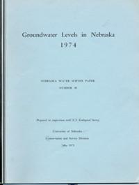 Groundwater Levels in Nebraska, 1974