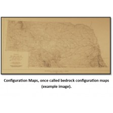 Isopach and Structure Maps, Southwestern Nebraska; set of eight maps (BCT-20)