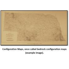 Generalized Structural Map - Base of Kansas City Group - Pennsylvanian System - In Nebraska (BCT-36)