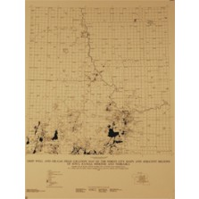 Deep-well, Oil-field, and Gas-well Location Map (BCT-35.6)