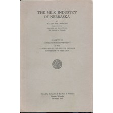 The Milk Industry of Nebraska (CB-15)
