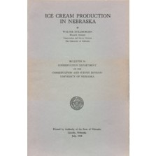Ice Cream Production in Nebraska (CB-18)