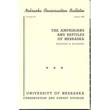 The Amphibians and Reptiles of Nebraska (CB-24)