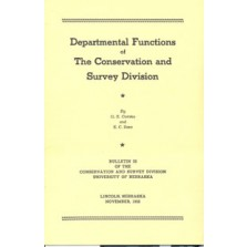 Departmental Functions of the Conservation and Survey Division (CB-33)