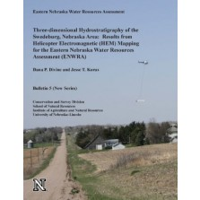 Three-dimensional Hydrostratigraphy of the Swedeburg, Nebraska Area: Results from Helicopter Electromagnetic (HEM) Mapping for the Eastern Nebraska Water Resources Assessment (ENWRA) CB-5(NS)