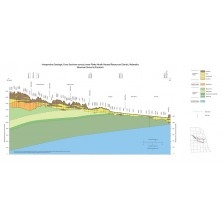 Interpretive geologic cross sections across Lower Platte North Natural Resources District, Nebraska (CCS-20)