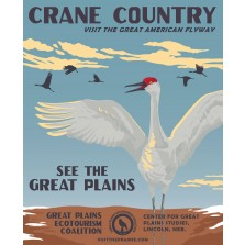 Crane Country Poster