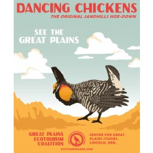 Dancing Chicken Poster