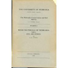 Road Materials of Nebraska, Part 3, Soil and Subsoil (DB-10)