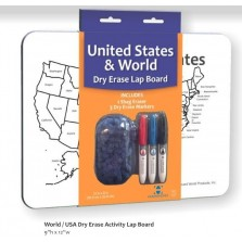 World/USA Dry Erase Lap Board (DE01)