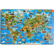 Illustrated World PlaceMap (DPM01)