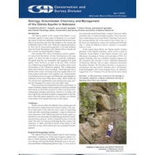 Geology, Groundwater Chemistry and Management of the Dakota Aquifer in Nebraska (ESN-6)