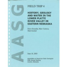 History, Geology and Water in the Lower Platte River Valley in Eastern Nebraska (GB-18)