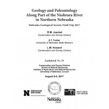 Geology and Paleontology Along Part of the Niobrara River in Northern Nebraska (GB-19)